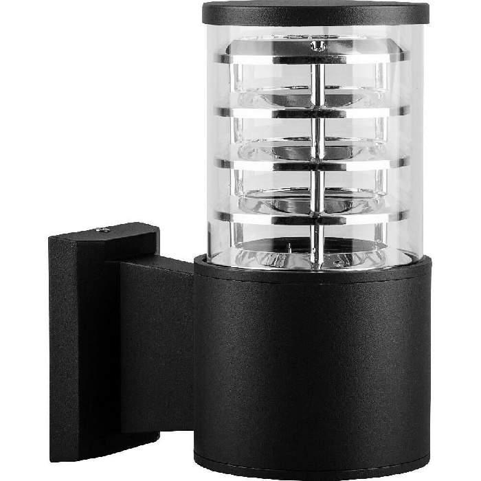 1Настенный уличный светильник DH0801 черный Feron