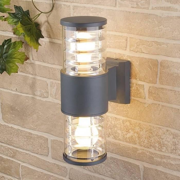 1 DH0802 черный Feron Светильник садово-парковый