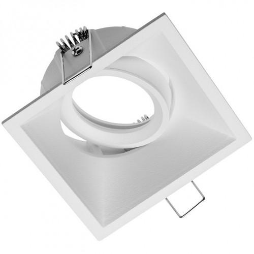 OP-SALKW-10 SALTO Светильник встраиваемый (каркас) GTV квадратный белый