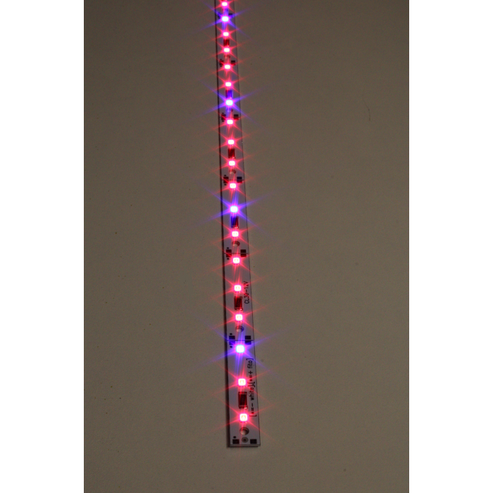 1Светодиодная фитолинейка 15ВТ 12Вольт(30 СИД)