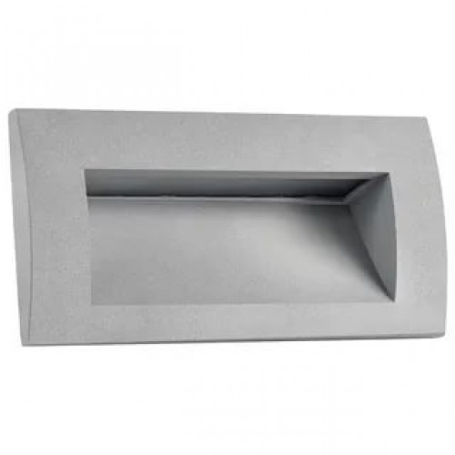 383592 Встраиваемый уличный светильник Lightstar серый