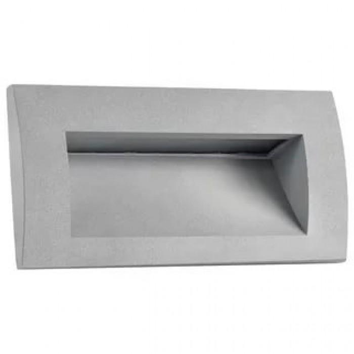 1Уличный встраиваемый светильник 383592 Lightstar серый