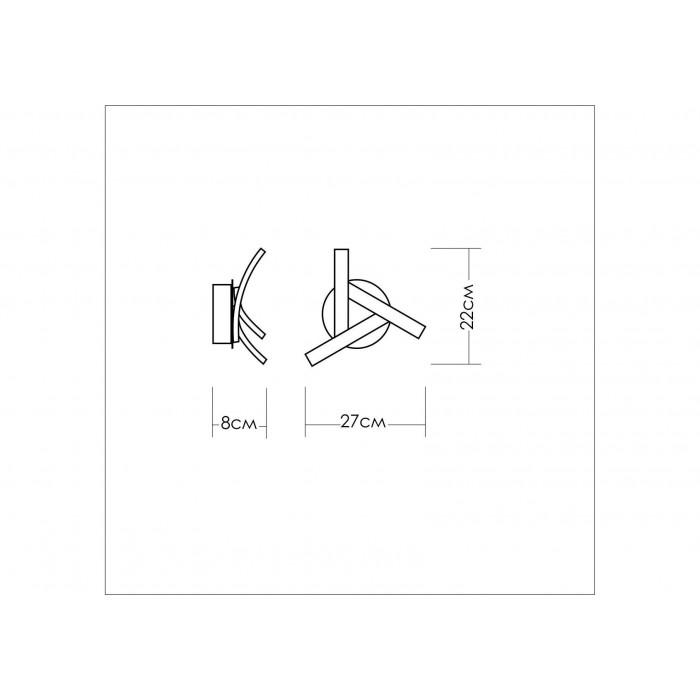 2TVTR3-20-01 Встраиваемый светильник Трио Лючера