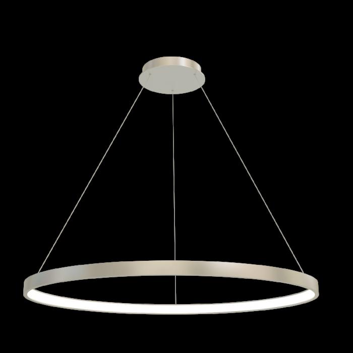 2Подвесная светодиодная люстра в форме кольца диаметром 70см TLRU1-70-01 Лючера