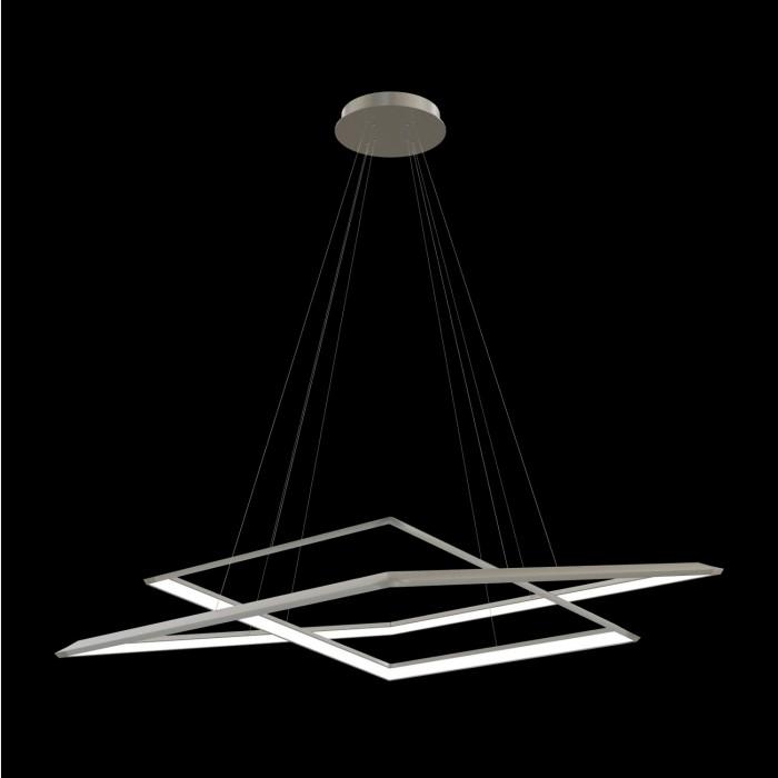 2Подвесная светодиодная люстра из квадратов 52 и 70 см TLCU2-52/70-01 Лючера