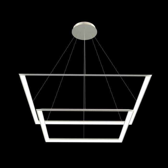 1Подвесная светодиодная люстра из квадратов 52 и 70 см TLCU2-52/70-01 Лючера