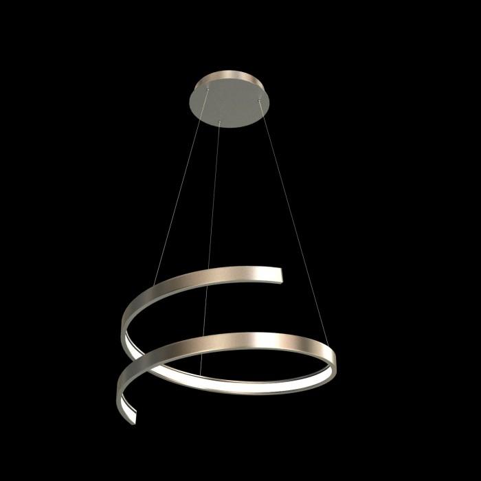 1Подвесная светодиодная люстра в форме спирали диаметром 40 см TLES1-40-01 Лючера