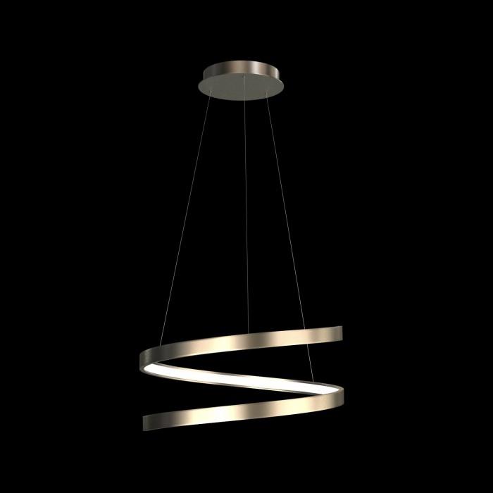 2Подвесная светодиодная люстра в форме спирали диаметром 40 см TLES1-40-01 Лючера