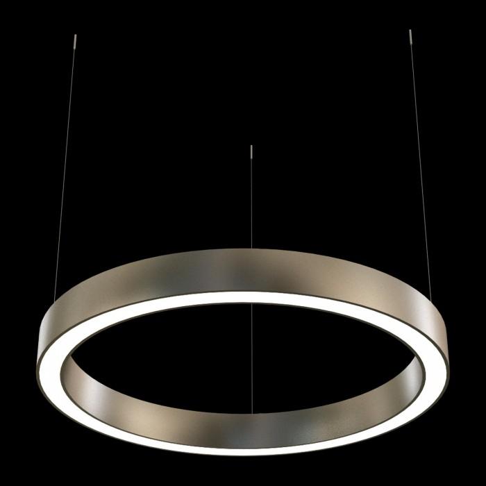 2Подвесная светодиодная люстра в форме кольца диаметром 100см TLAB1-100-01 Лючера