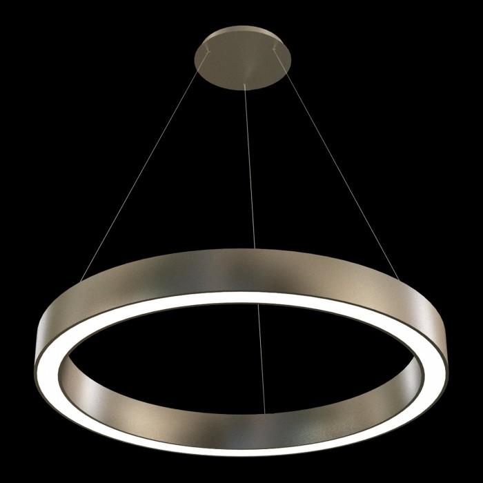 1Подвесная светодиодная люстра в форме кольца диаметром 100см TLAB1-100-01 Лючера