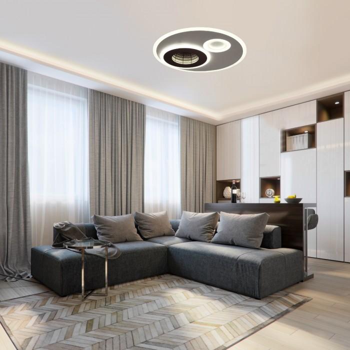 2Потолочный светодиодный светильник 4501/85CL Lumion