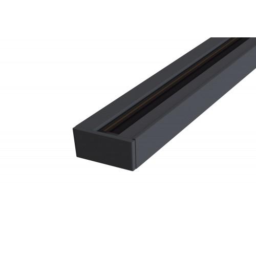 TRX001-111B Шинопровод однофазный 1м черный Maytoni