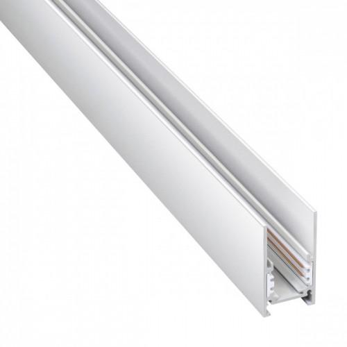 135090 SHINO белый Низковольтовый шинопровод 1м (токопровод и заглушки в комплекте) IP20 48V FLUM Novotech