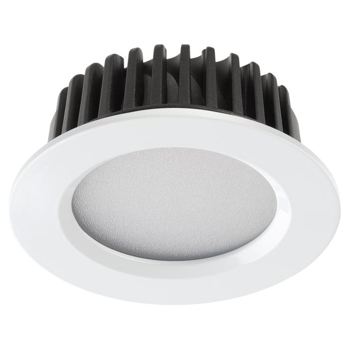 1Встраиваемый светодиодный светильник 357907 Drum Novotech