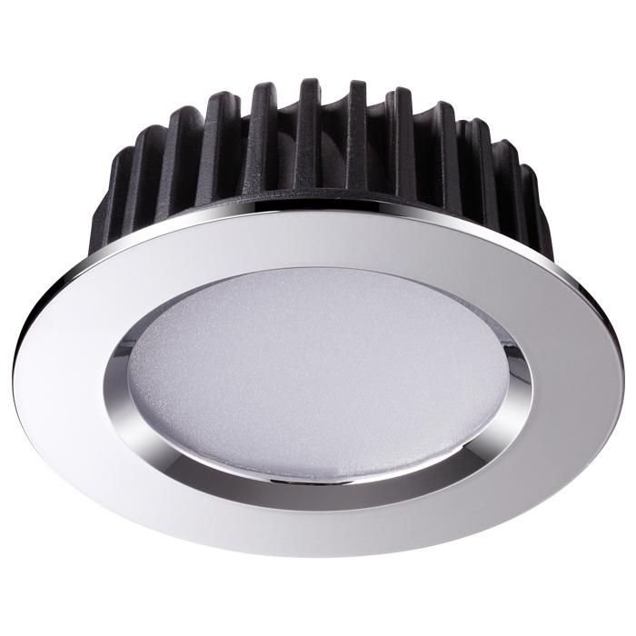 1Встраиваемый светодиодный светильник 357908 Drum Novotech