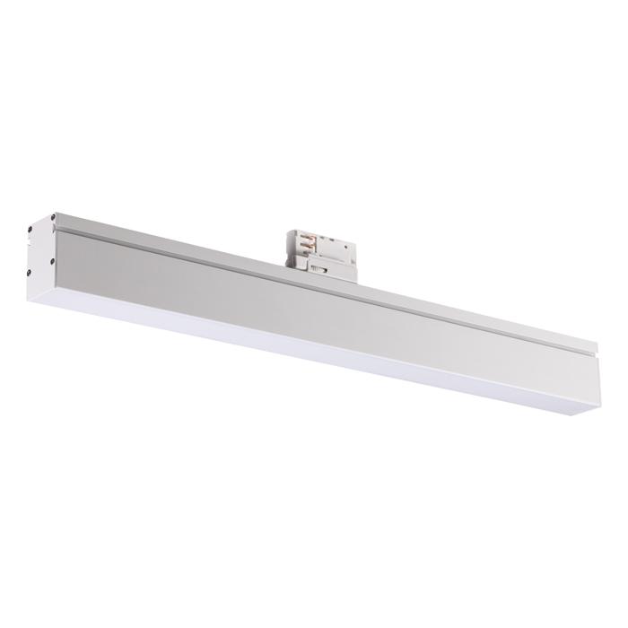 1Однофазный трековый светодиодный светильник 358185 ITER Novotech