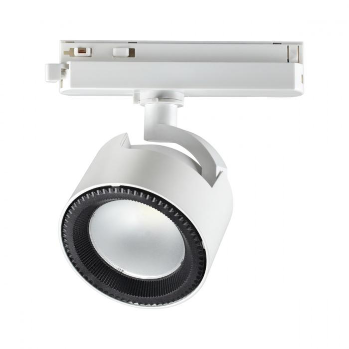 1Однофазный трековый светодиодный светильник 358432 PIRUM Novotech