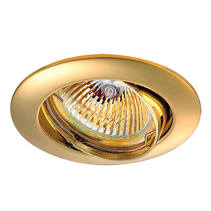 1Встраиваемый поворотный светильник 369102 Novotech