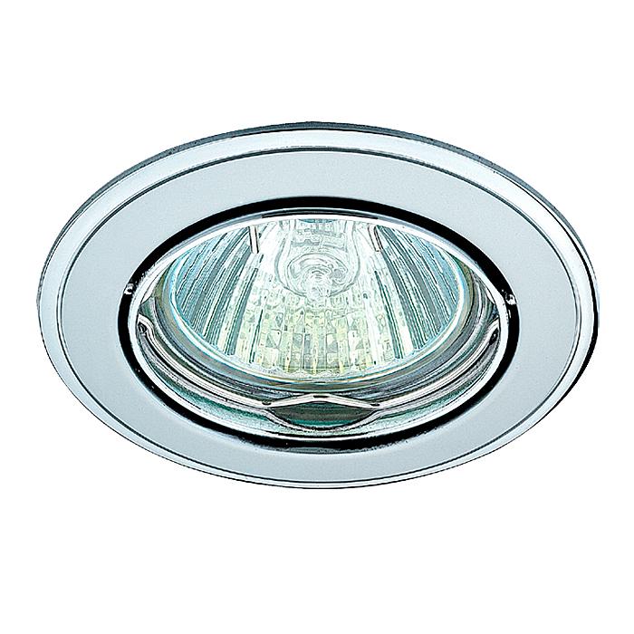 1Встраиваемый поворотный светильник 369104 Novotech