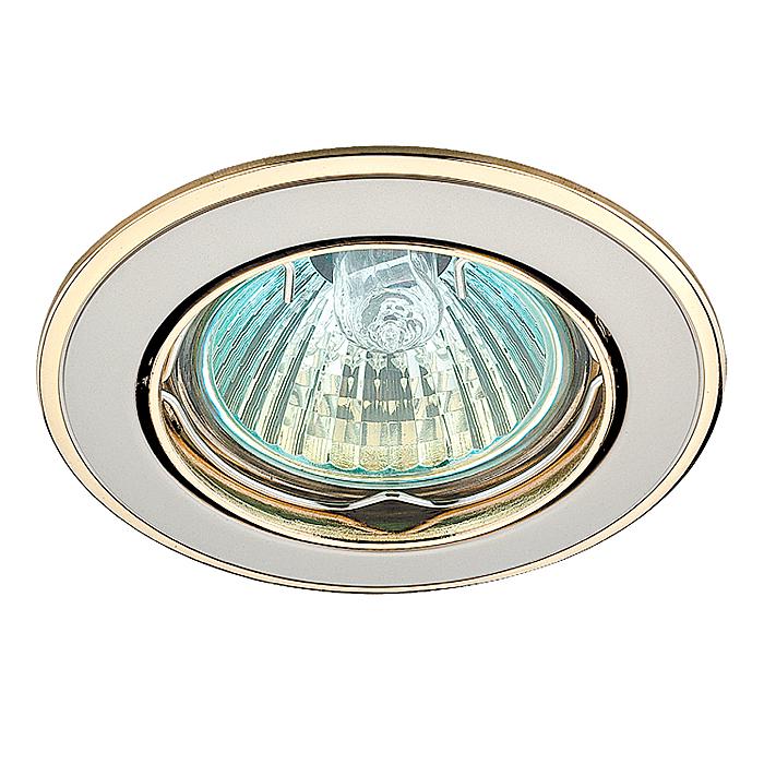 1Встраиваемый поворотный светильник 369105 Novotech