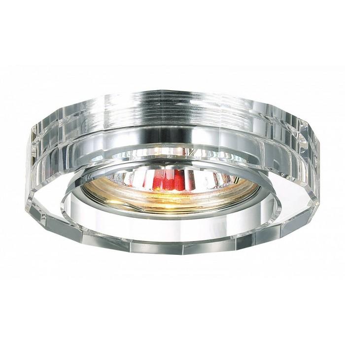 1Встраиваемый светильник 369487 Novotech Glass