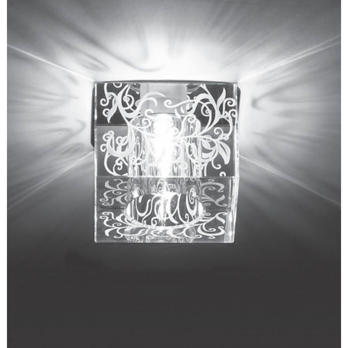 1Встраиваемый светильник 369514 Cubic Novotech