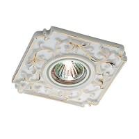 369866 Встраиваемый фарфоровый светильник Novotech