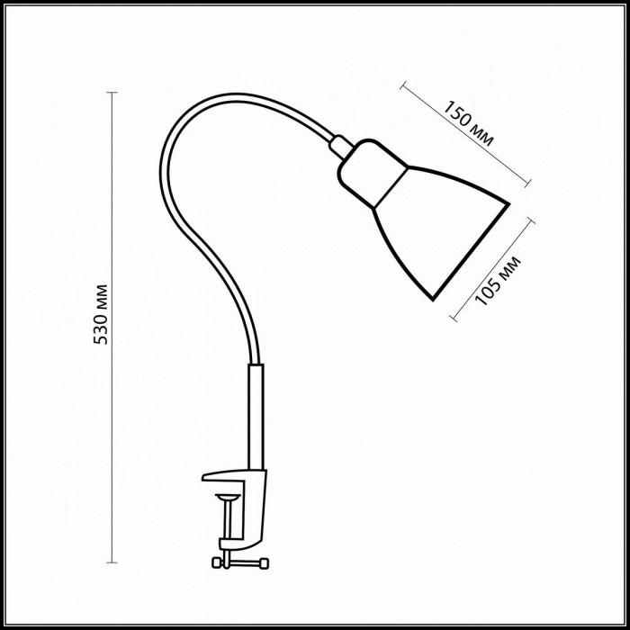2Офисная настольная лампа 1997/1T Odeon Light