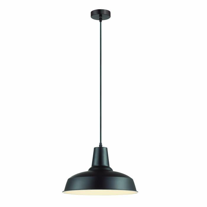 1Подвесной металлический светильник в стиле LOFT черного цвета 3361/1 Odeon