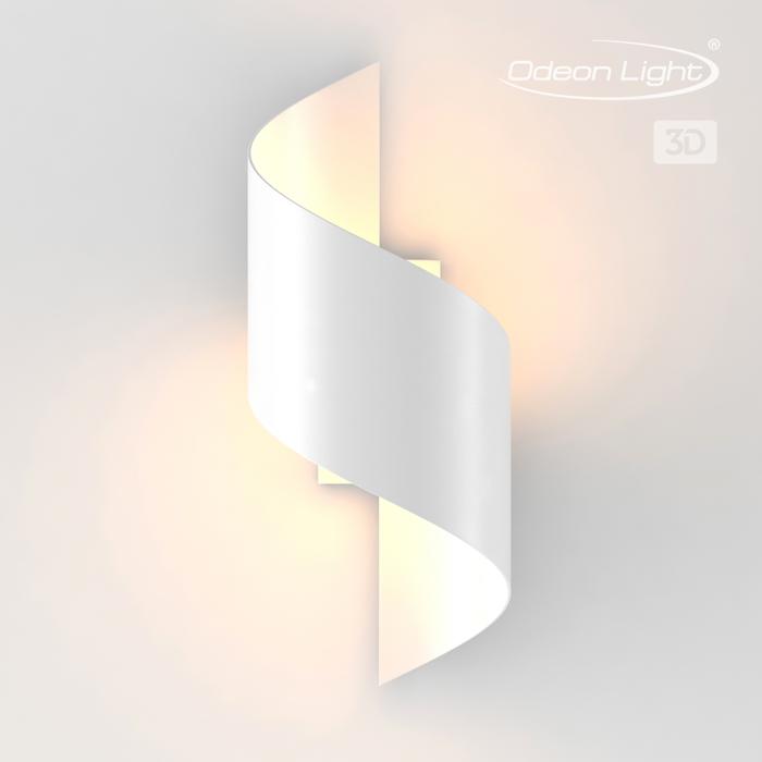 1Настенный светодиодный светильник 3543/5LW Odeon Light