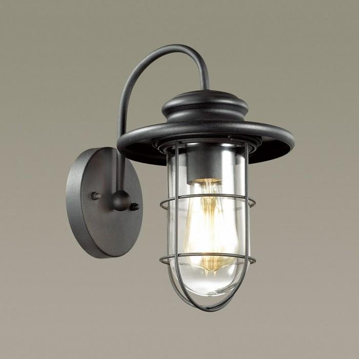 2Уличный настенный светильник 4171/1W Odeon Light