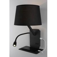 OML-62811-02 Настенный светильник с USB зарядкой Omnilux