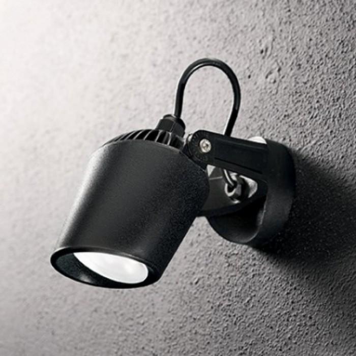 1Уличный настенный поворотный светильник 096476 MINITOMMY AP1 NERO