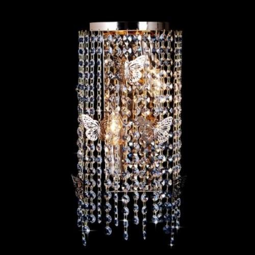 10015/2 золото/прозрачный хрусталь Бра Евросвет