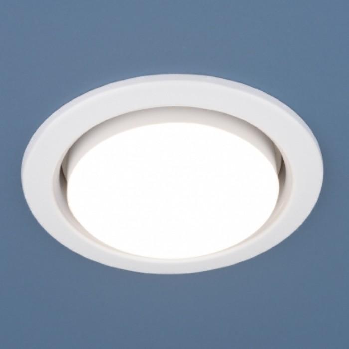 1Встраиваемый ультратонкий светильник 1035 GX53 WH белый