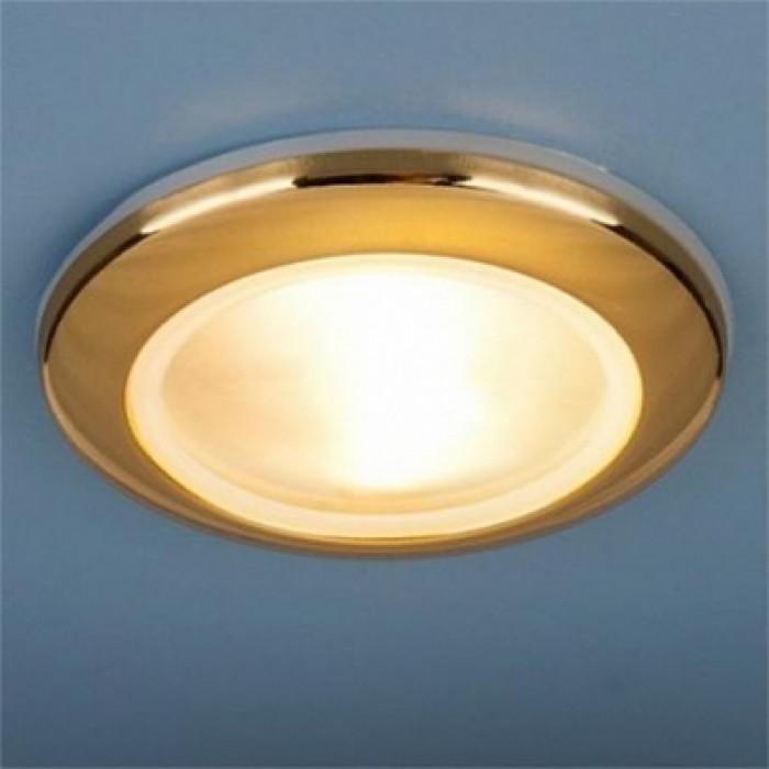 1Встраиваемый влагозащитный светильник 1080 MR16 GD золото