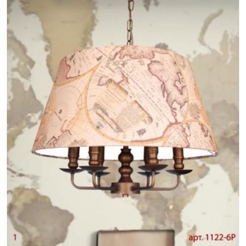 1122-6P Mappa FAVOURITE Подвесной светильник