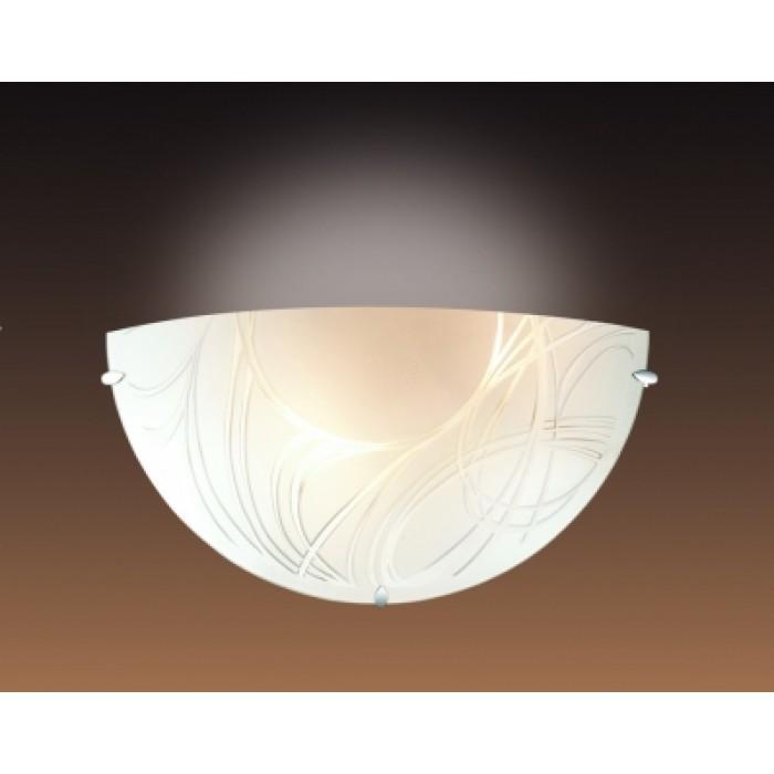 1Настенный светильник 1206 Sonex полукруглой формы