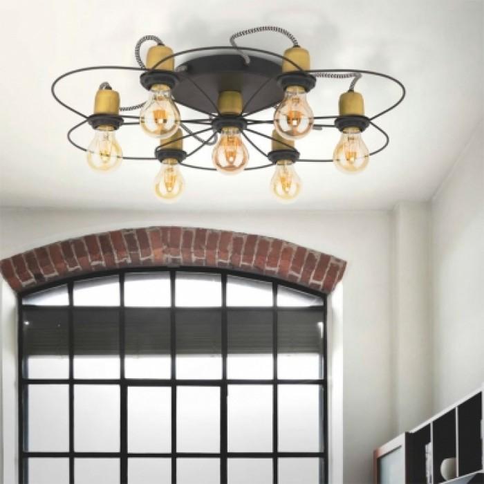 1Люстра потолочная в стиле лофт 1262 TK-lighting
