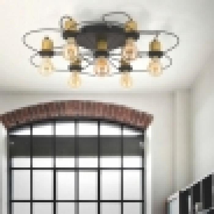 2Люстра потолочная в стиле лофт 1262 TK-lighting