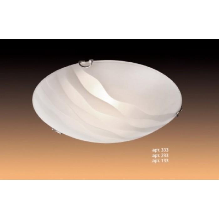 1Настенно-потолочный светильник 133/K Sonex круглой формы