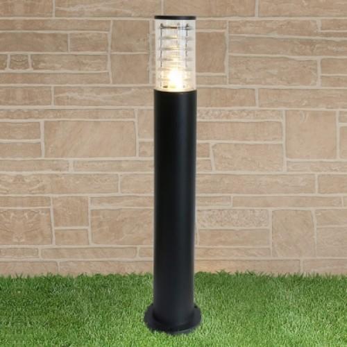 1507 TECHNO черный Уличный столбик Электростандарт