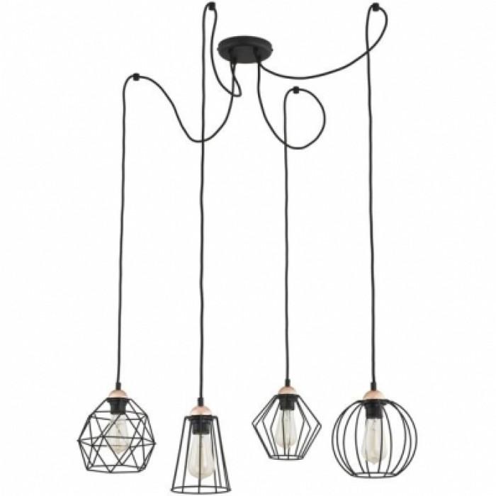 1Светильник потолочный подвесной в стиле лофт 1646 TK-lighting