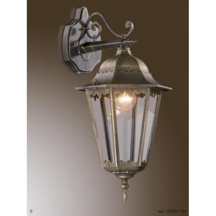 1Настенный уличный светильник Lano 2320/1W Odeon Light