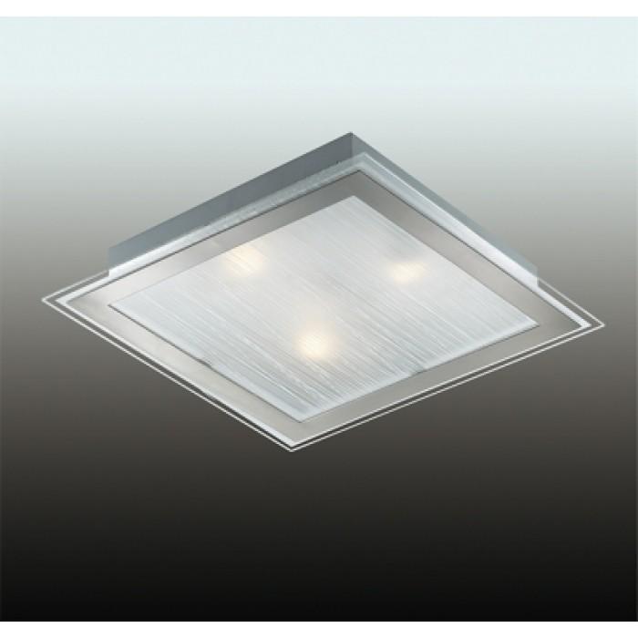 1Настенно-потолочный светильник 2737/3w Odeon light квадратной формы
