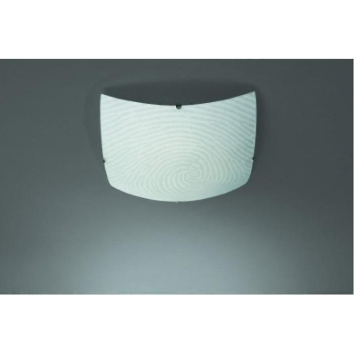 1Настенно-потолочный светильник 30160/67/15 квадратной формы с оригинальным рисунком