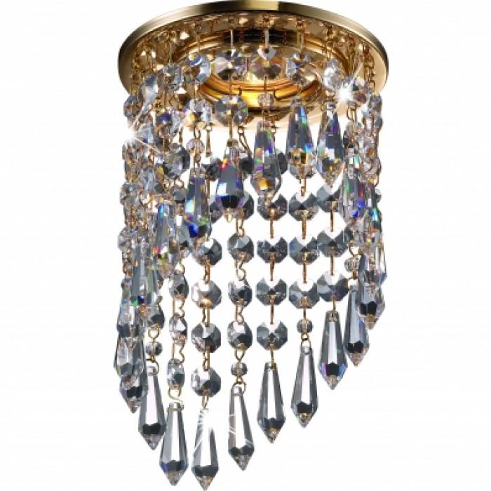 1Встраиваемый хрустальный светильник 369400 Novotech