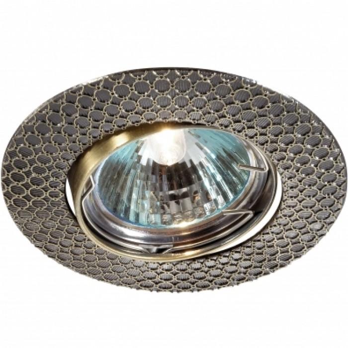 1Встраиваемый светильник для потолка 369623 Novotech