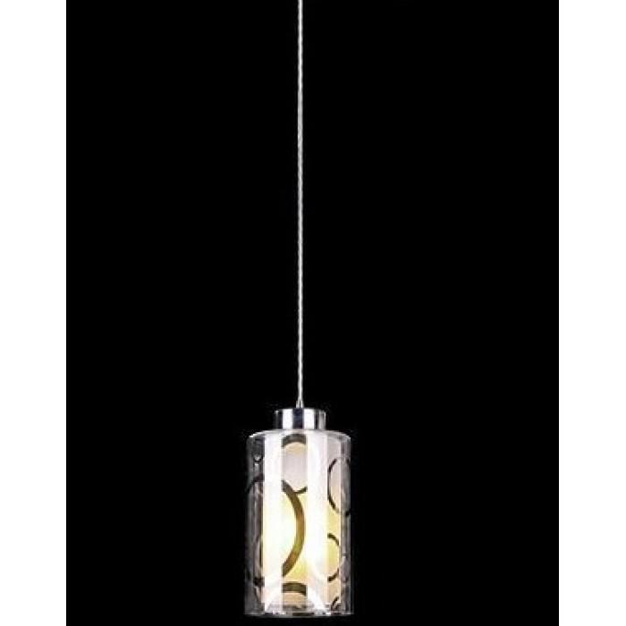 1Подвесной одиночный светильник 50000/1 хром Евросвет