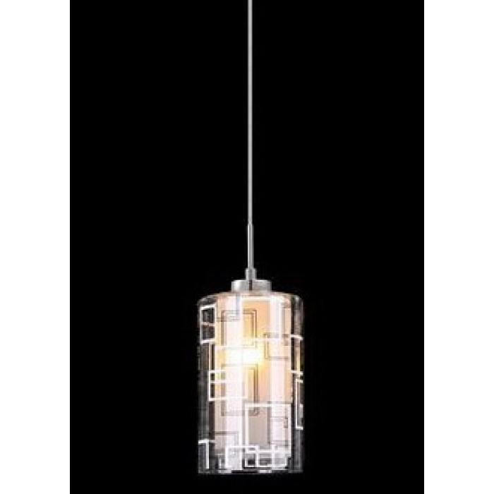 1Подвесной одиночный светильник 50002/1 хром Eurosvet